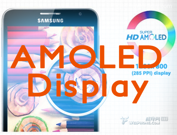amoled display logo