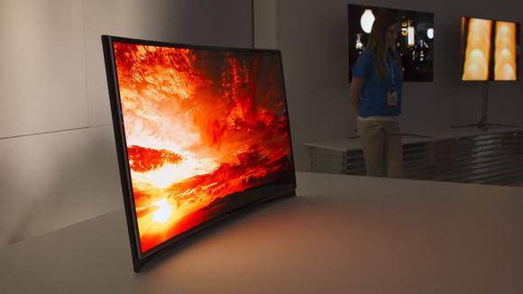 Samsung curved OLED TV best 5 gadgets at ces 2013