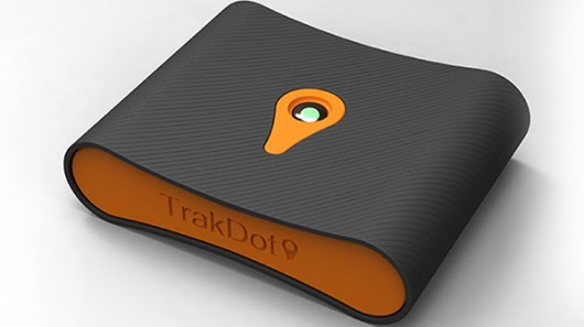 trakdot-luggage-tracker best 5 gadgets at ces 2013