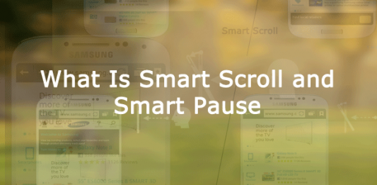 smart scroll and smart pause