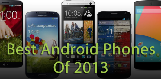 best android phones of 2013
