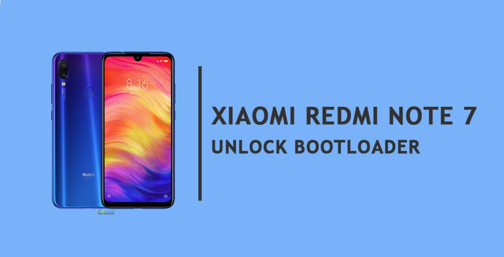 unlock bootloader Redmi Note 7